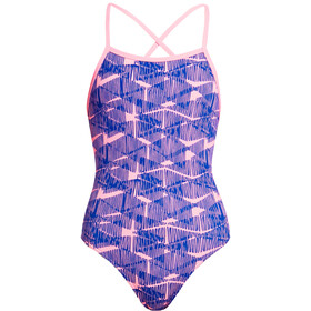 Funkita Strapped In One Piece Badeanzug Mädchen bar bara